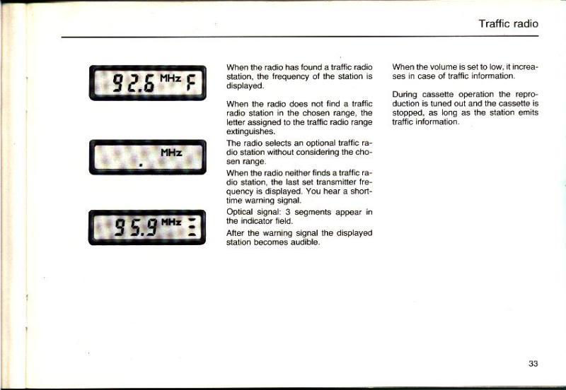 Garantia e assistência técnica rádio Becker 610 e antena elétrica Hirschmannn Manualbecker12