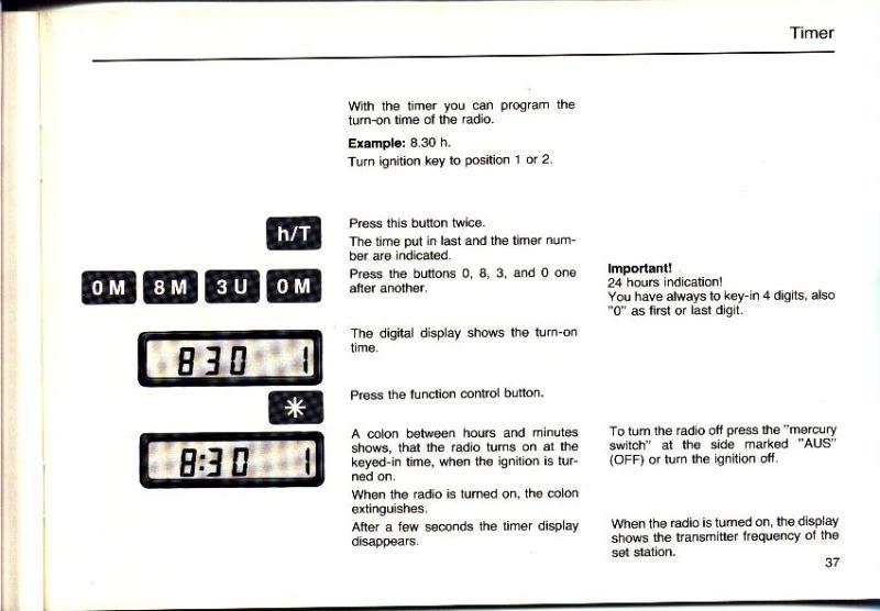 Garantia e assistência técnica rádio Becker 610 e antena elétrica Hirschmannn Manualbecker16