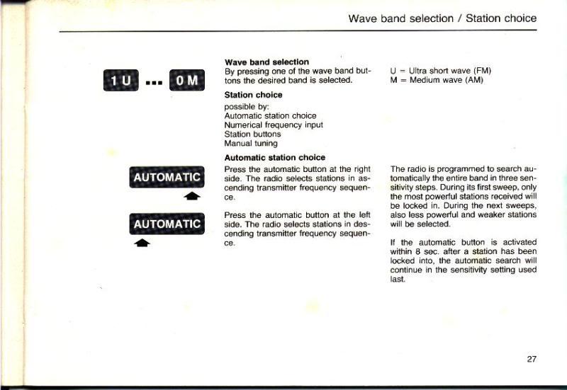 Garantia e assistência técnica rádio Becker 610 e antena elétrica Hirschmannn Manualbecker6