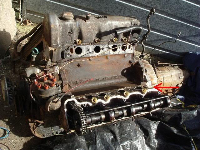 Localização do Número do motor M117 Motor10