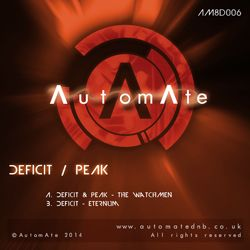 Brooding, genre-bending weirdness from Deficit & Peak - Out Today on AutomAte Deep! AM8E006-release-art-250px-1