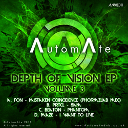 Depth of Vision EP (Vol.3) - Out Today on AutomAte AM8E011-release-art-250px