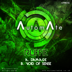 Ruffie - Damage / Void Of Sense - Out Today on AutomAte AM8E012-release-art-250px