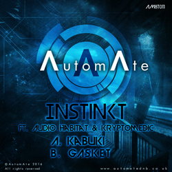 New from Instinkt, Audio Habitat & Kryptomedic on AutomAte Tech! AM8T011-release-art-250px