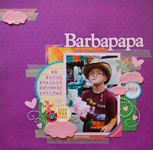 1er juillet: 5 nouvelles pages Barbapapa