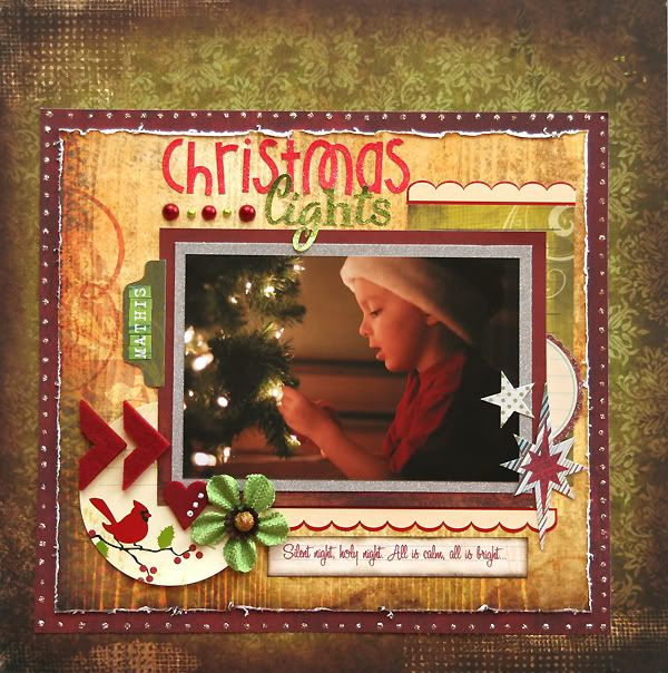 30 nov **3 pages** (Rose Moka) Christmaslights