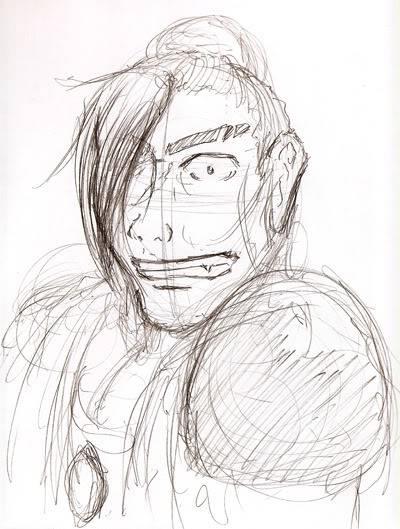 My PSO doodles Aveon