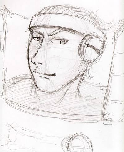 My PSO doodles Kel