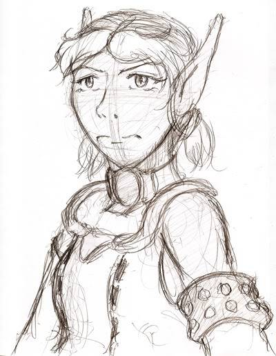 My PSO doodles Levi