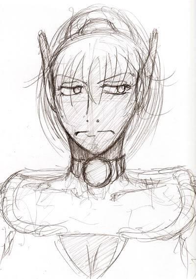 My PSO doodles Sayara
