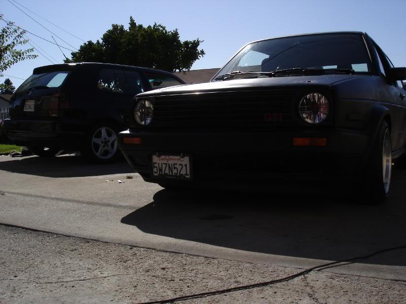 Fotos de mi GTI Mk2 y unos videos desde Santa Cruz California. 7245cc24
