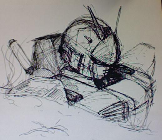 Nos coups de crayon, dessins et autres gribouillis... Gundam