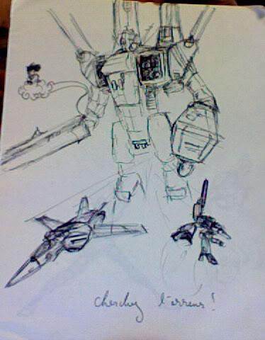 Nos coups de crayon, dessins et autres gribouillis... MacrossDBZ
