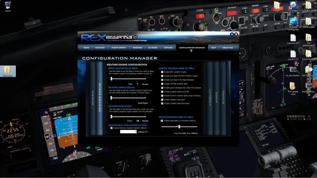 REX Essential! É o que realmente estão falando? (EDITADO, adicionei fotos da configuração da Engine) 1