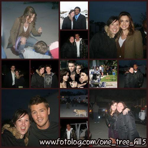 Fotos e Vídeos do Elenco de One Tree Hill nos Sets de Filmagem 1237484872989_f