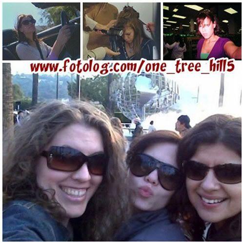 Fotos e Vídeos do Elenco de One Tree Hill nos Sets de Filmagem 1237567839896_f