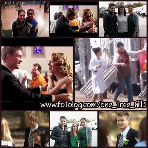 Fotos e Vídeos do Elenco de One Tree Hill nos Sets de Filmagem 1237735420600_f