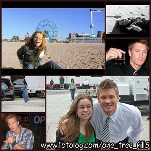 Fotos e Vídeos do Elenco de One Tree Hill nos Sets de Filmagem 1237803817389_f