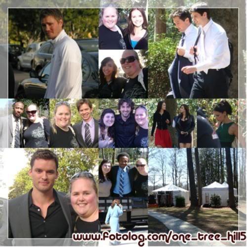 Fotos e Vídeos do Elenco de One Tree Hill nos Sets de Filmagem 1237836155145_f