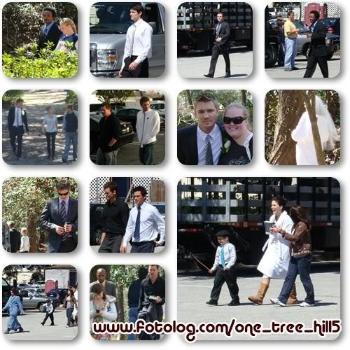 Fotos e Vídeos do Elenco de One Tree Hill nos Sets de Filmagem 1237889688821_f