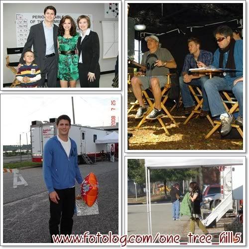 Fotos e Vídeos do Elenco de One Tree Hill nos Sets de Filmagem 1238499638717_f