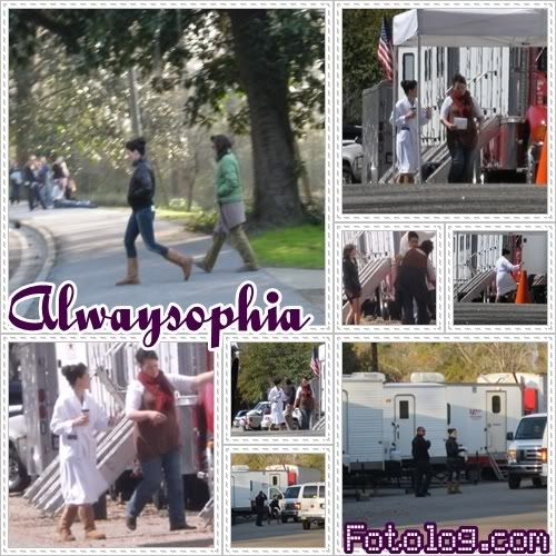 Fotos e Vídeos do Elenco de One Tree Hill nos Sets de Filmagem 1238751295983_f