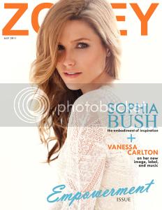 Fotos, Vídeos e Aparições Públicas - Sophia Bush (Brooke Davis) - Página 9 Julycover-232x300