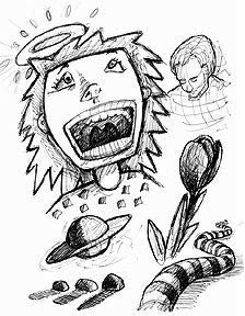 Desenhos da Peyton - OTH Myart-sketches7