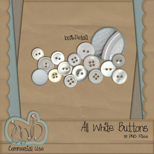 Button, Buttons.... MBscraps_AllWhite_Preview