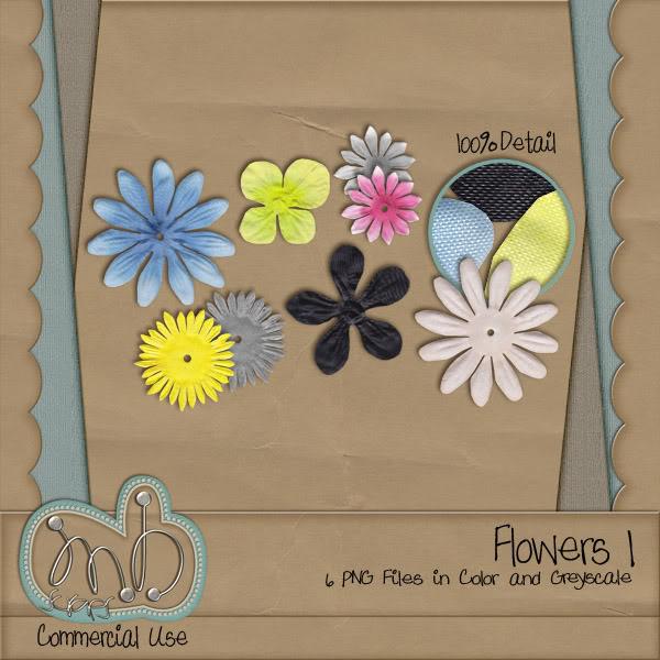 Flowers!!! MBscraps_Flowers1_Preview-2