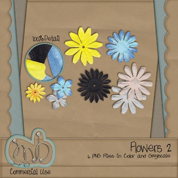 Flowers!!! MBscraps_Flowers2_Preview-2