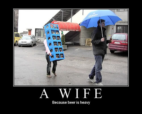 Just like this pic and wanted to post it somewhere - Page 5 WifeCarryingBeer
