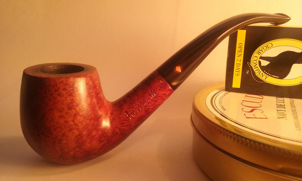 Restoration of an LL Bean pipe FinalLLBean_zpsfihilgzr