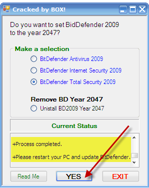 عاد capo بحصرياته BitDefender Total Security 2009 2-1