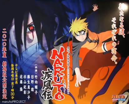 Mais novo filme de Naruto. Narutofilme4