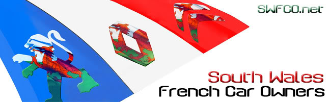Contact - South Wales French Car Owners club   SWFCOLogo