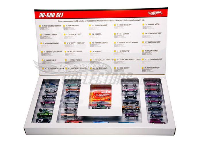 Pack 30 HW Classic Classics_set_32990
