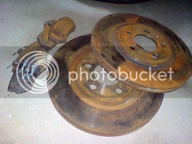 280mm discs & mintex pads Brakes