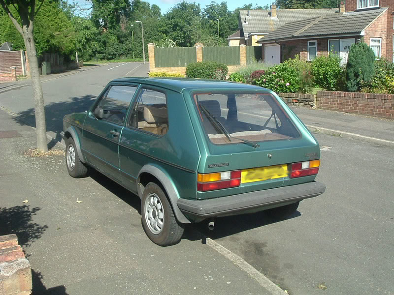 '83 Mk1 Golf Driver - Manifold back in paint... :-) DSCF2050