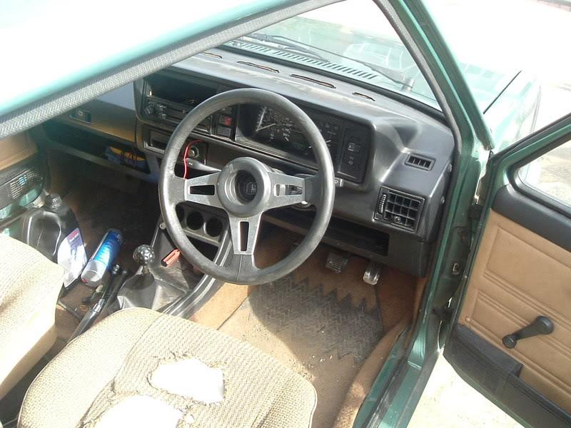 '83 Mk1 Golf Driver - Manifold back in paint... :-) DSCF2055