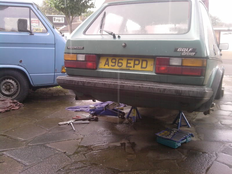 '83 Mk1 Golf Driver - Manifold back in paint... :-) - Page 2 P140810_1447