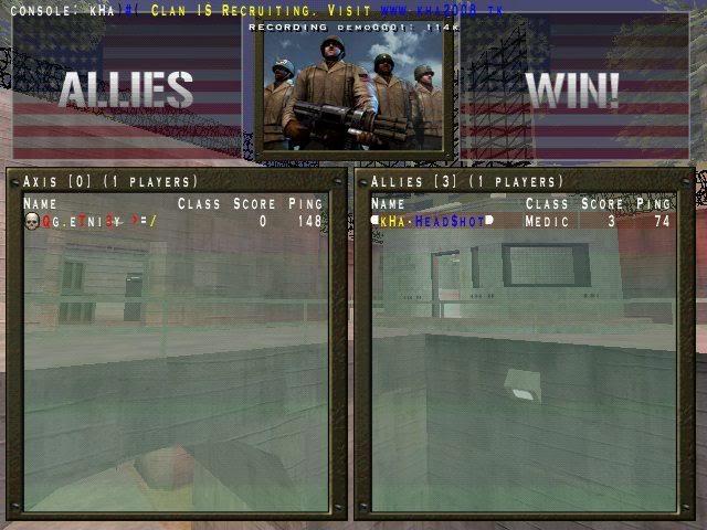 kHa vs QG Warmup
