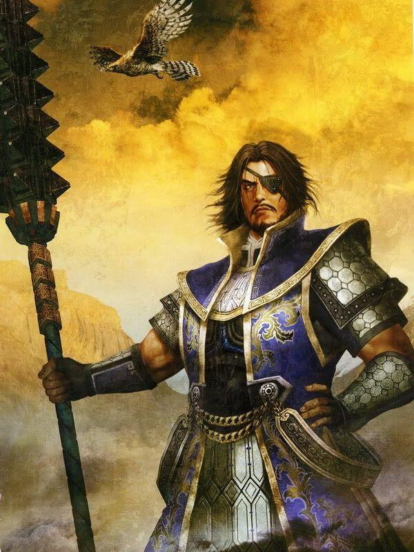 Personnages importants Xiahou_Dun_DW6_Artwork