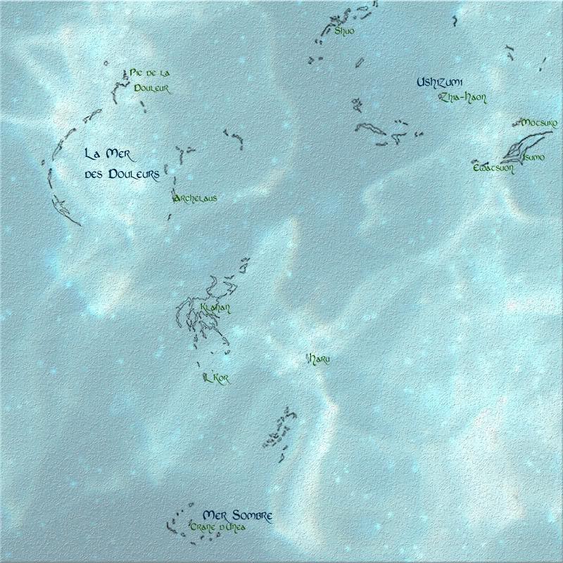 Samudra, la légende des mers Minimap