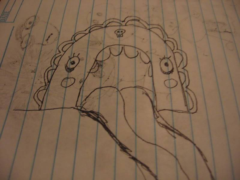 The sloth can not draw.. doodle maybe, but not draw. Dont believe his lies IMG_1101