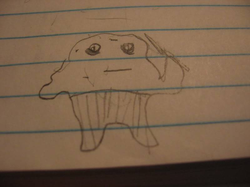 The sloth can not draw.. doodle maybe, but not draw. Dont believe his lies IMG_1105