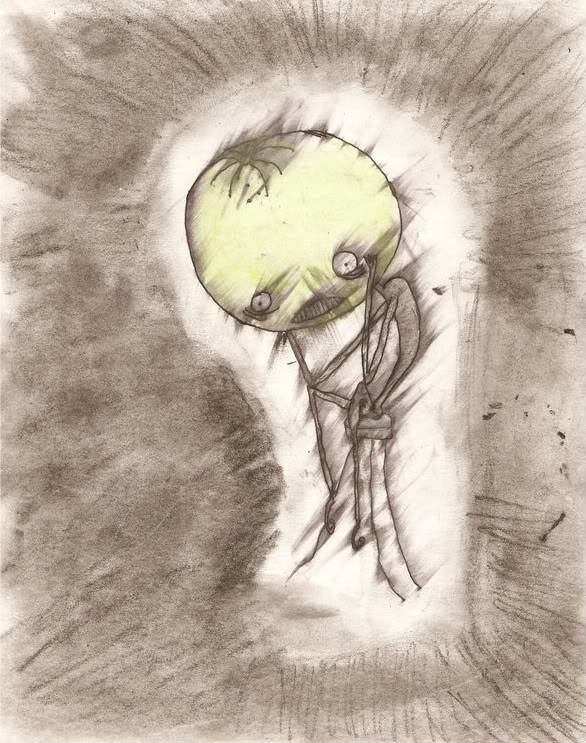 The sloth can not draw.. doodle maybe, but not draw. Dont believe his lies I_Heart_Tim_Burton_by_narcolepti-1