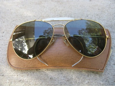 Vintage Bushnell Shooting Glasses (Aviator, Tinted) 1_e9e0620f8a99069912504aa2575c040b_zps7a49d491