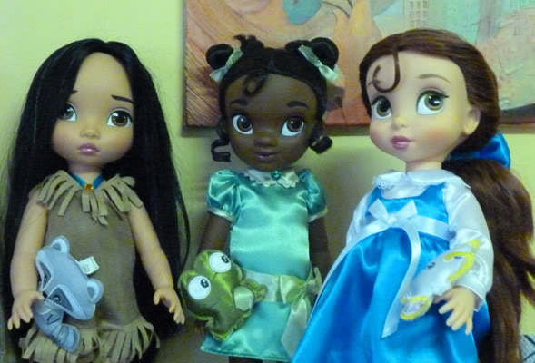 Disney Animator's Collection (depuis 2011) Bel_tia_poca
