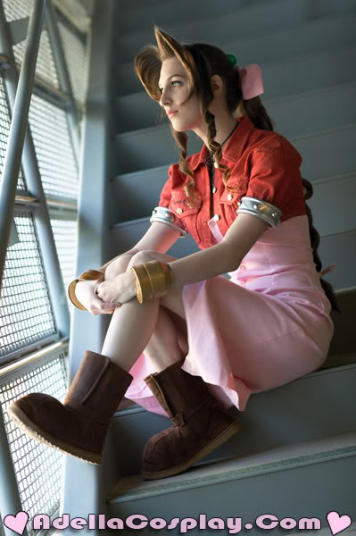 Cosplay internacional  :cat: Aeris_Gainsborough___Costume_by_Ade